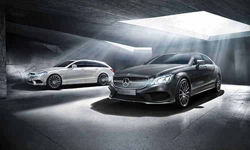 CLS Coupé und CLS Shooting Brake Final Edition